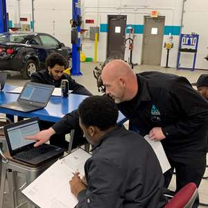 An automotive technician student goes from learning to earning in 20 weeks at Matrix Trade Institute.