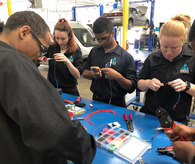 Automotive Mechanic Efficiency Training